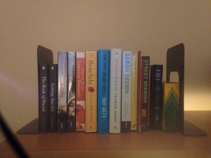 My small but lovely row.